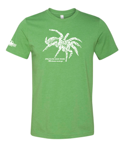 Limited-edition Spruce-Fir Moss Spider shirt, available at the Spring MRNR.