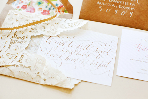 Bridal Shower  /  Oh So Beautiful Paper