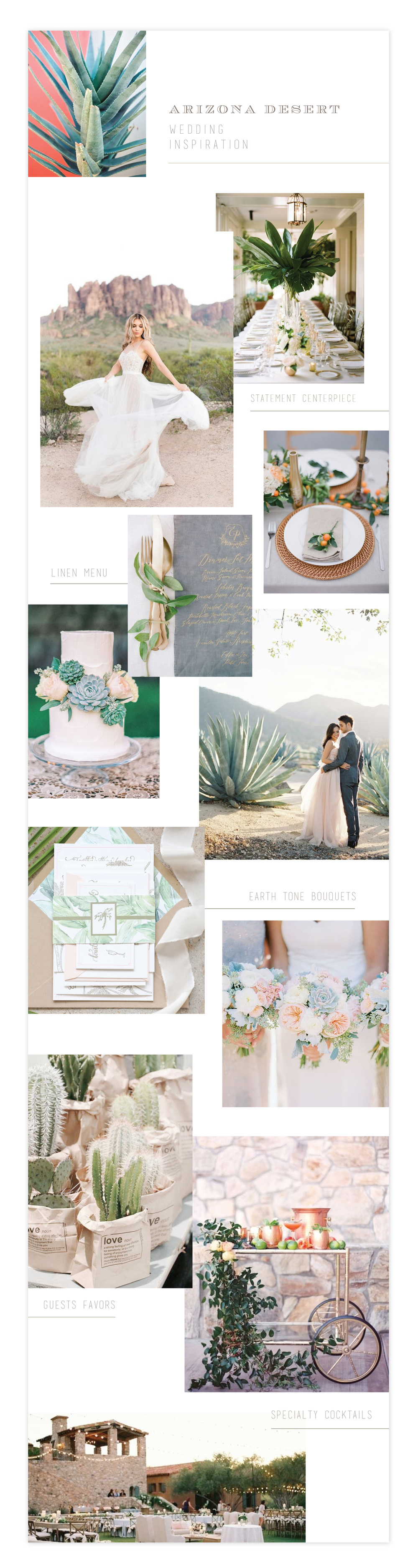 Arizona Desert Wedding Inpiration