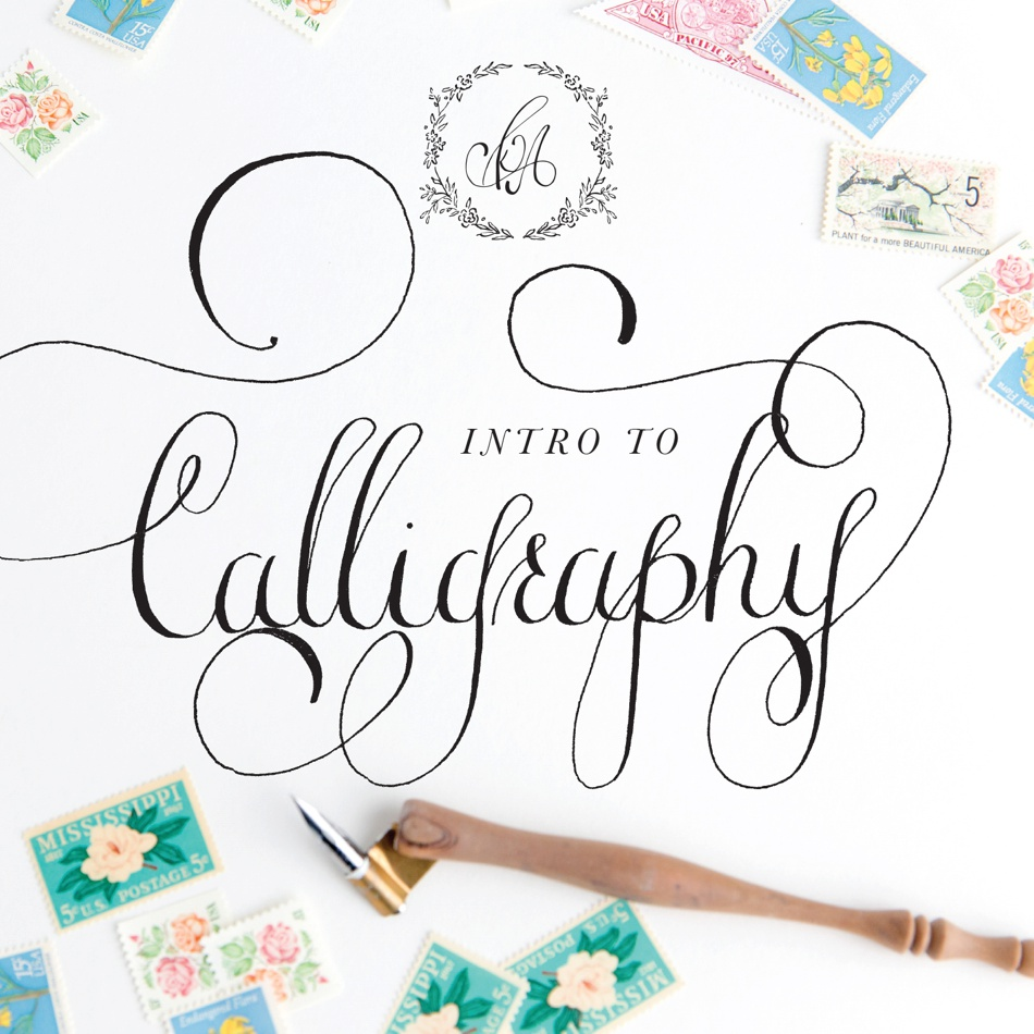 Calligraphy Workshop with Kara Anne Paper