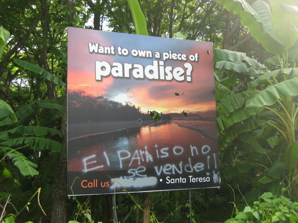 El paraiso no se vende!