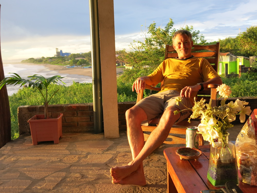 Portrait of my friend, Warren, celebrating his 50th in Nicaragua.