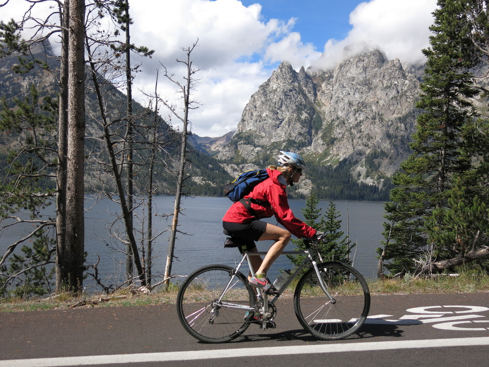 Teton spin; 29th anniversary weekend.