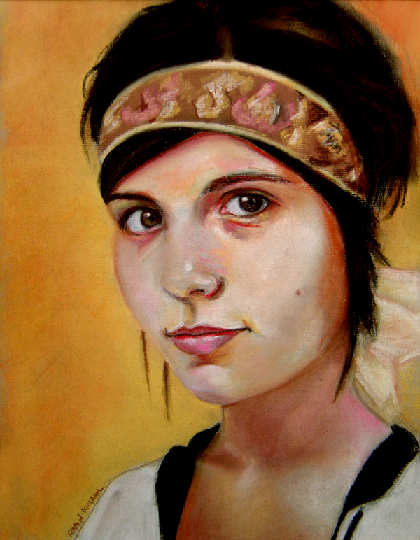 Kristen // pastel on paper // 2006
