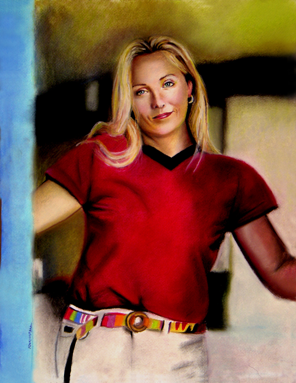 Cynthia  // pastel on paper // 2005