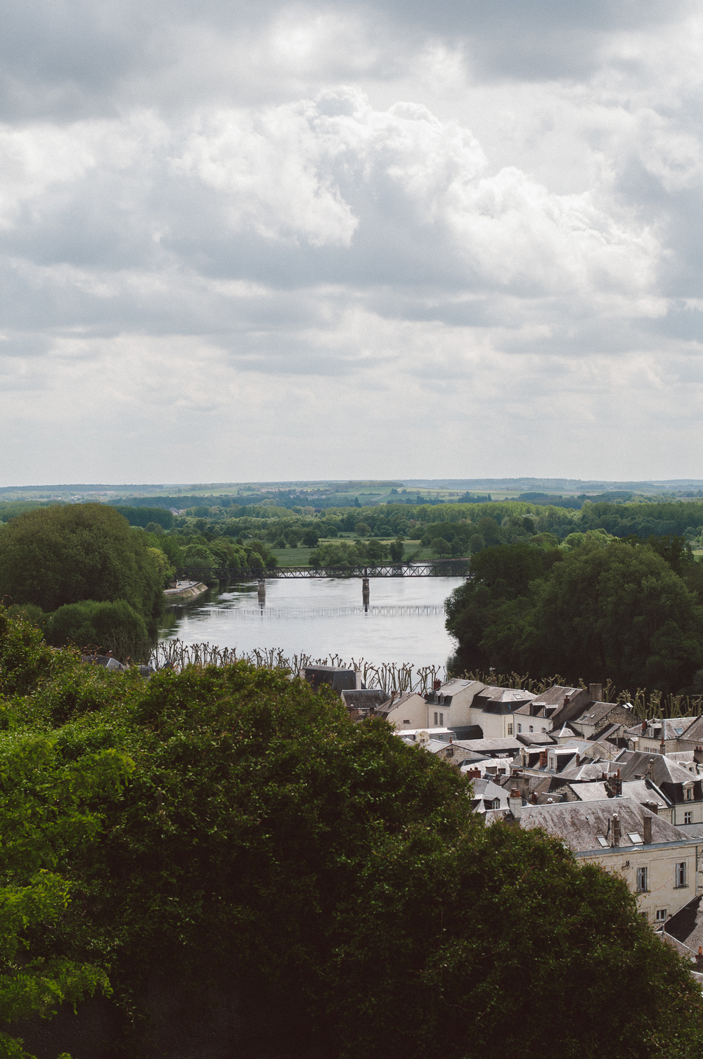 View from Fortress de Chinon.