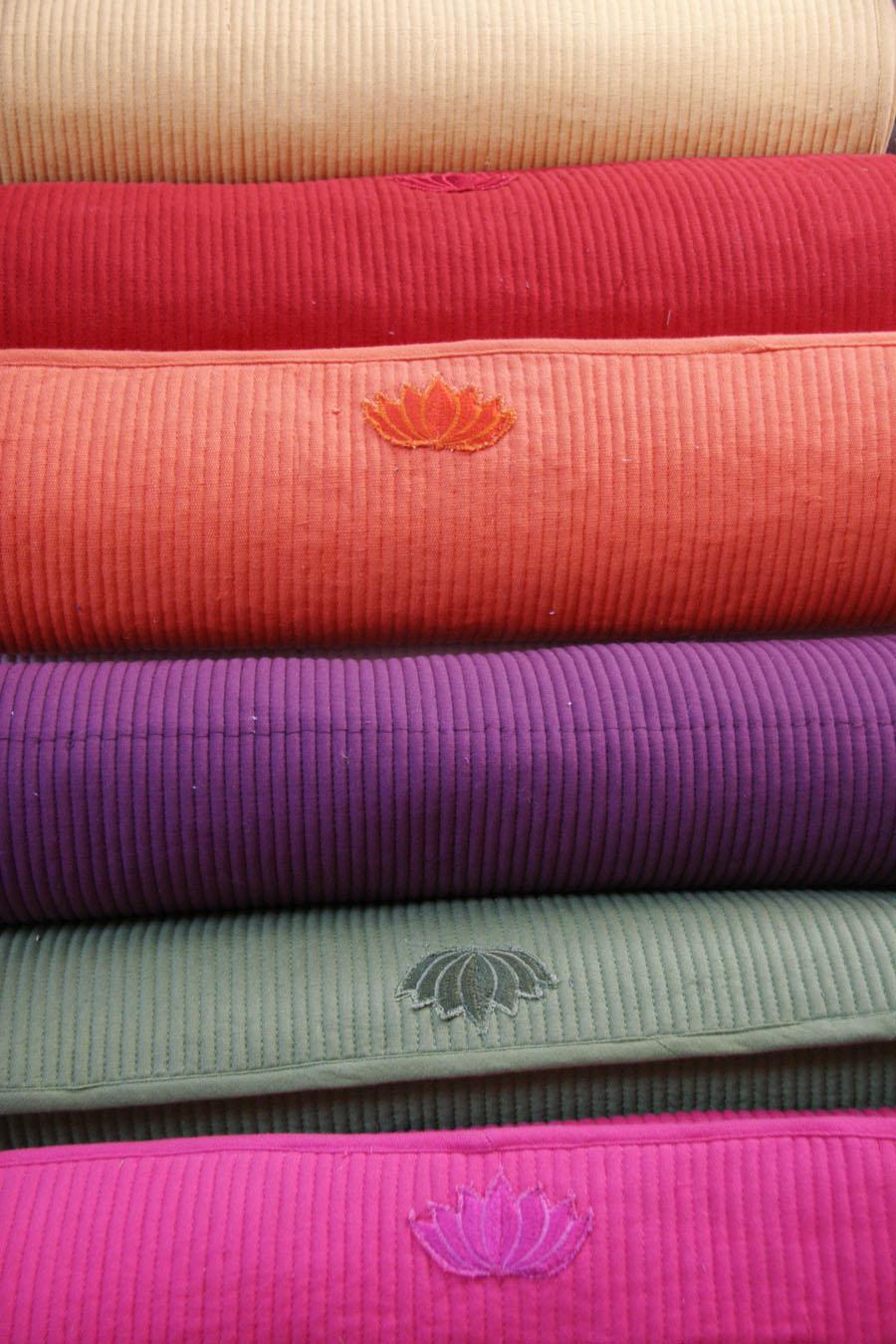 Handmade Cotton Yoga Mats & Bags