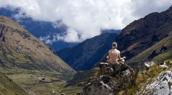 Soaking in the vibes - Peru