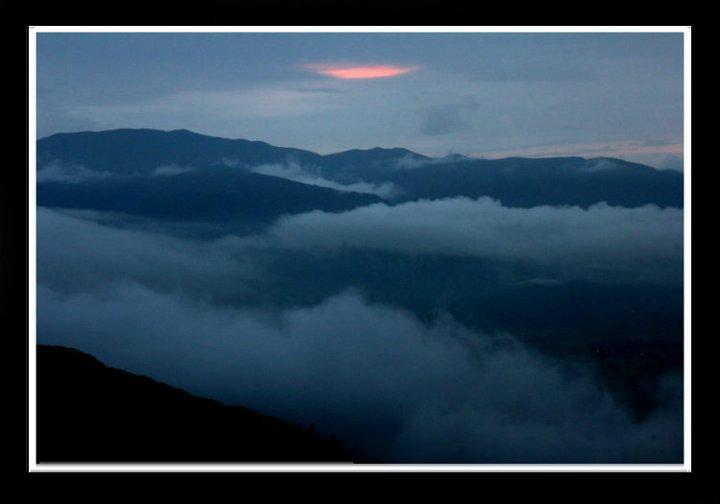Sunset, NZ, 2010