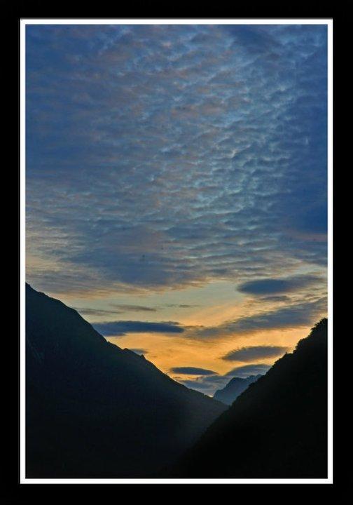 Sunset, New Zealand, 2010