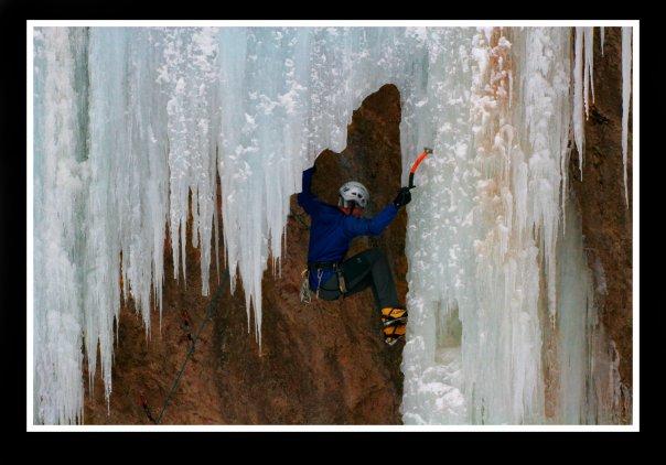 Ice Climbing, Ouray, CO