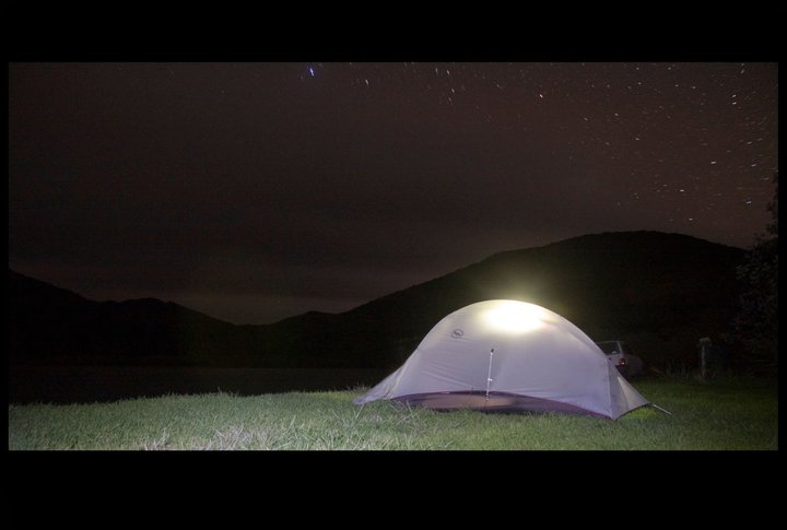 Under starry skies, New Zealand, 2010
