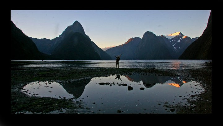 Grateful for Life, Milford Sound, NZ, 2010