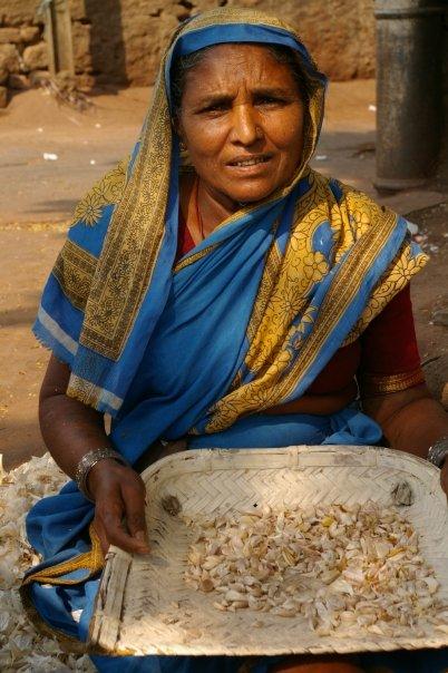 Garlic Woman