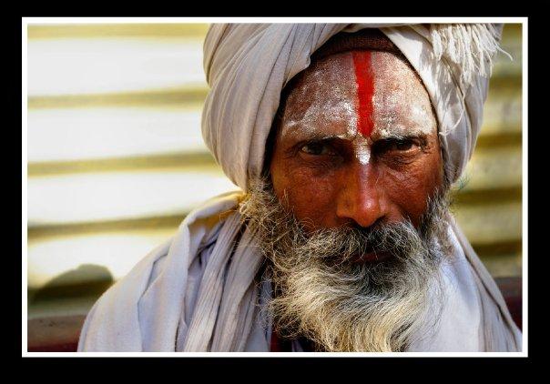 Baba in Rishikesh