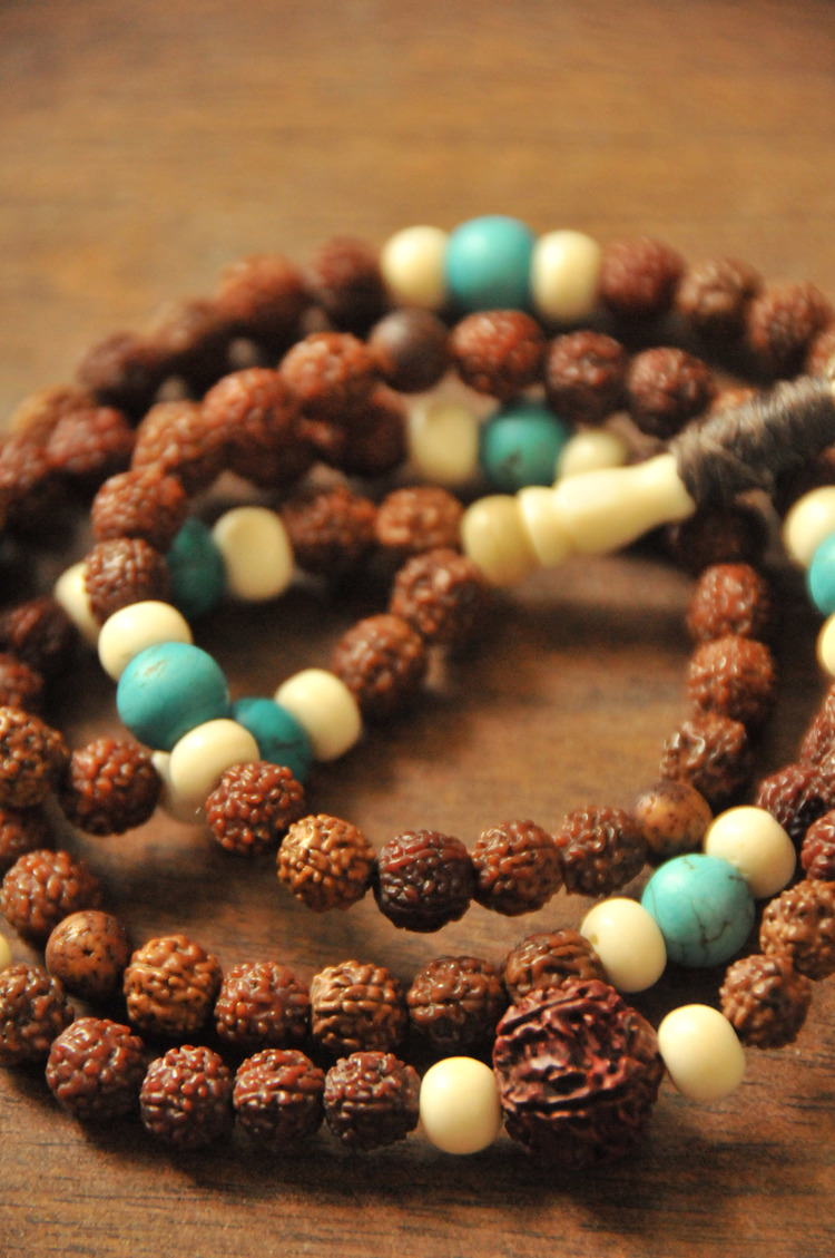 Rudrasha Seed mala  (This one specially made for Jyotiji)