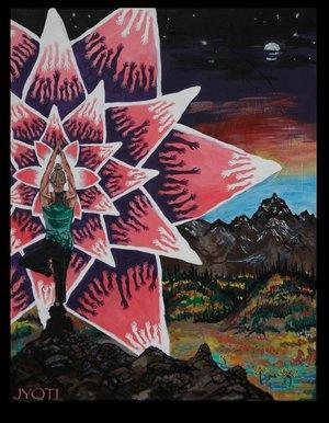 Visionary Art - by Jyoti
