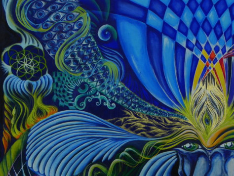 Visionary Art - by Claudia Fantuzzi
