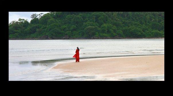 Lady in Red (Goa in Monsoon Season, 2009)