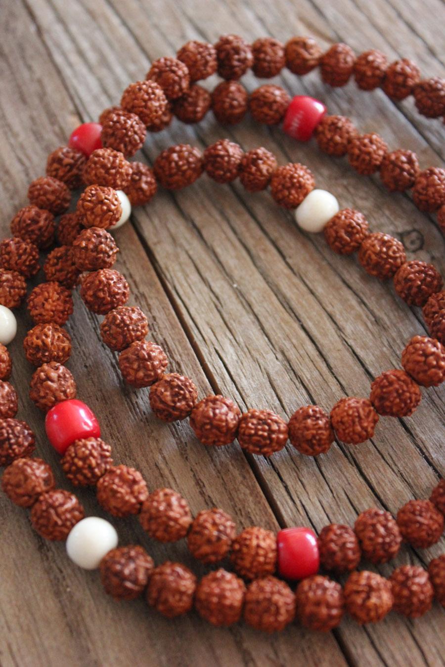 Rudrash seeds, Coral and Bone