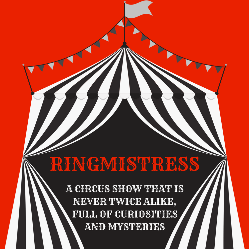 Creator, Producer and Host  Ringmistress is a monthly comedy variety show at The Pack Theater on the 2nd Thursdays at 8p, and it's $Pay what you can!  Join the greatest Ringmisstress of the land, Entienne LaPhroig, and her sidekick Pinky, for an evening at her tiny circus, full of surprise, laughter and curiosities!  WHEN: SECOND THURSDAYS @ 8p    WHERE: The Pack Theater, 6470 Santa Monica Blvd, LA, CA 90038  PARKING: Meters and side streets, but it can be tough, so advised to plan for 10 minutes buffer.