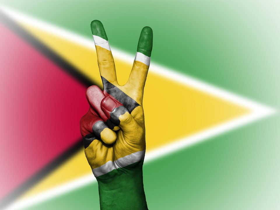 guyana - peace - flag