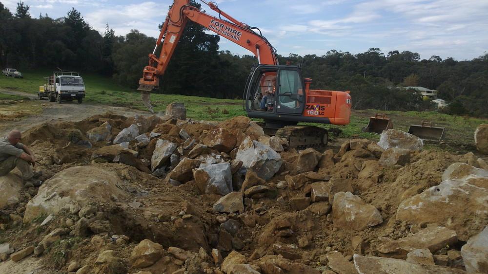 Rock Blasting Service : S c services — excavations