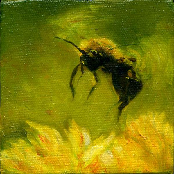 Gathering Honeybee