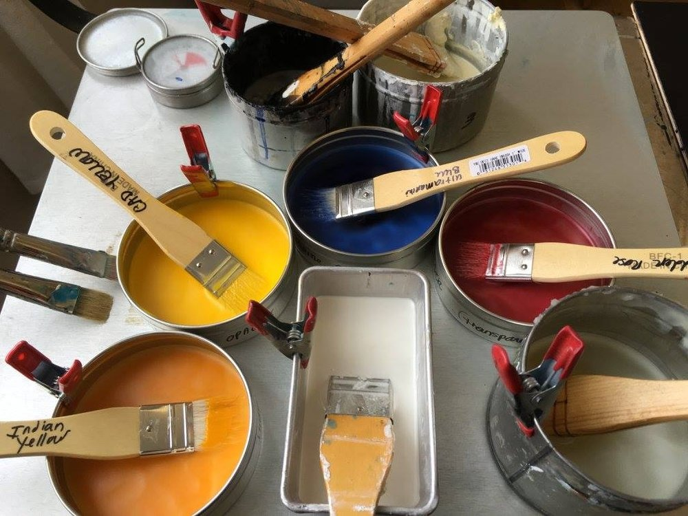 Encaustic Painting Classes  - For information on upcoming workshops, please see the Mcguffey Art Center website:http://www.mcguffeyartcenter.com/workshops/wejr7z8slbw16wulmk2vwsu6hevhcb