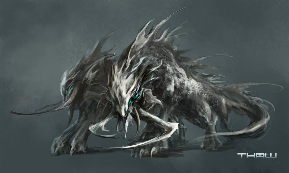 Thaw - Alien Creature Design