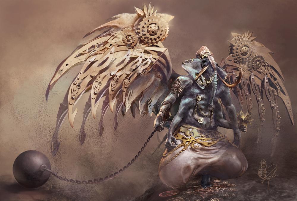 "Karma - ""Lord Ganesha"" Character Design"