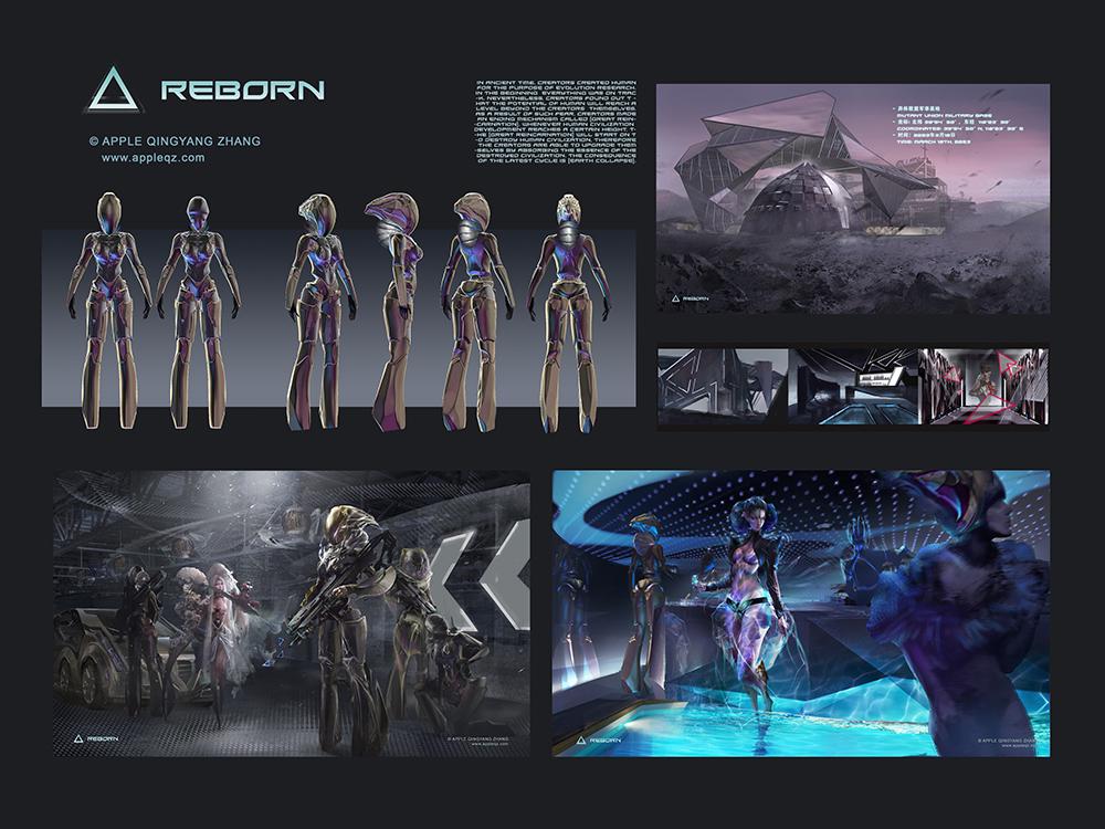 Reborn - Mech & Environment Design