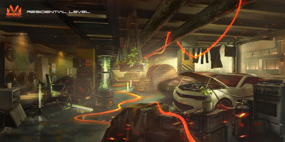VR Game Environment Design