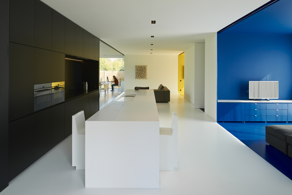 Privat house by Crepain-Binst Architects