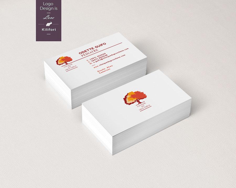 Clinique du Gros Chêne - Business Cards