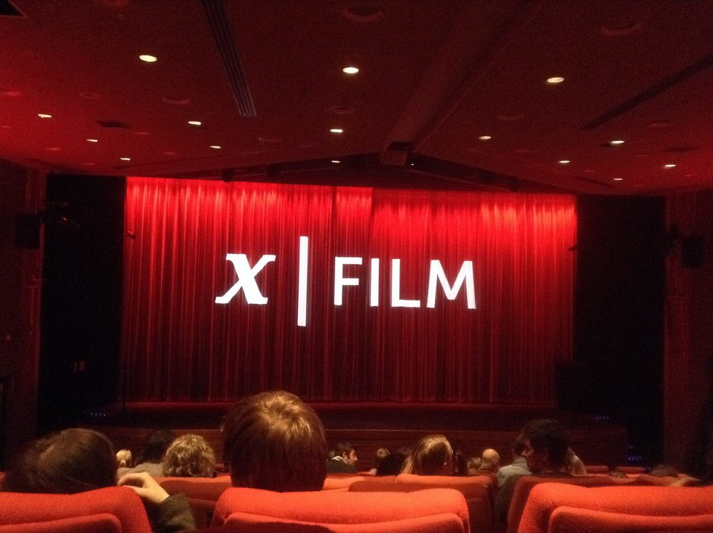 In London for the screening of 'Crocodile' and other great shorts from X Film productions. Tricky to google....