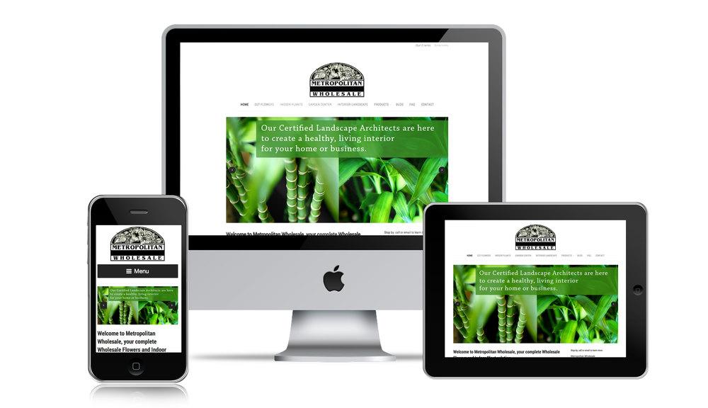 NJ Florist Mobile Web Design