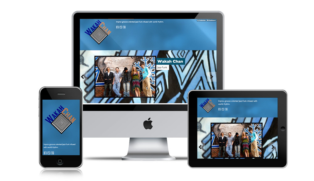 NJ Musician Mobile Web Design
