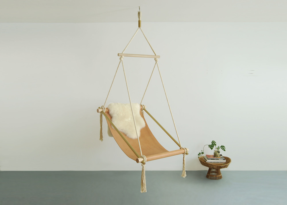hanging chair. Ovis Hanging Chair NATURAL