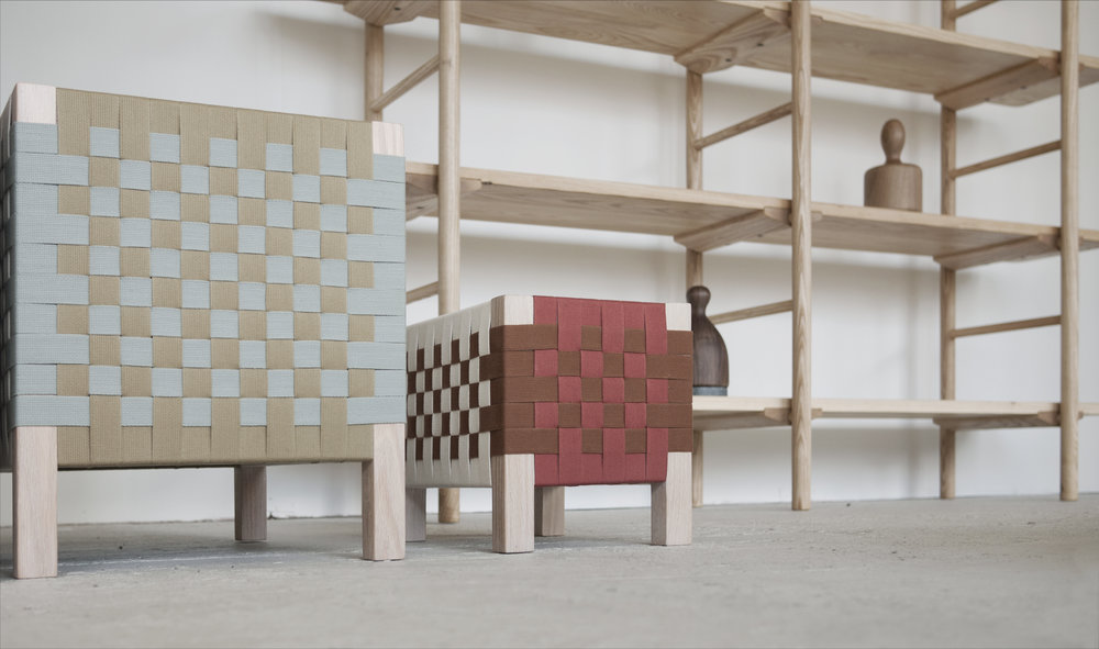 Woven Stools by Ladies & Gentlemen Studio