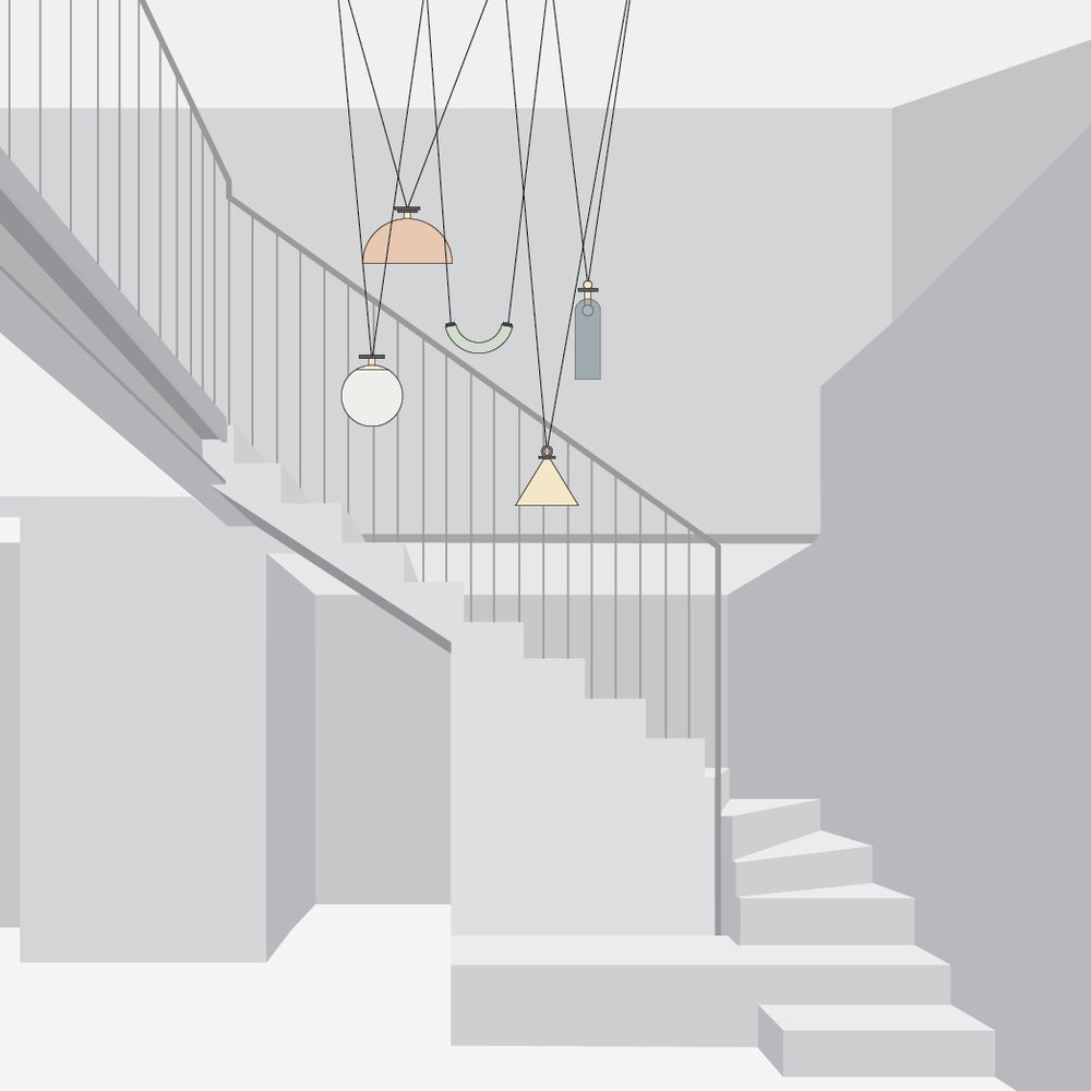 STAIRCASE+LIVING -