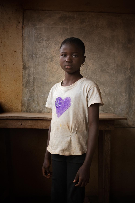 Mousta's heart t-shirt, Ketou.