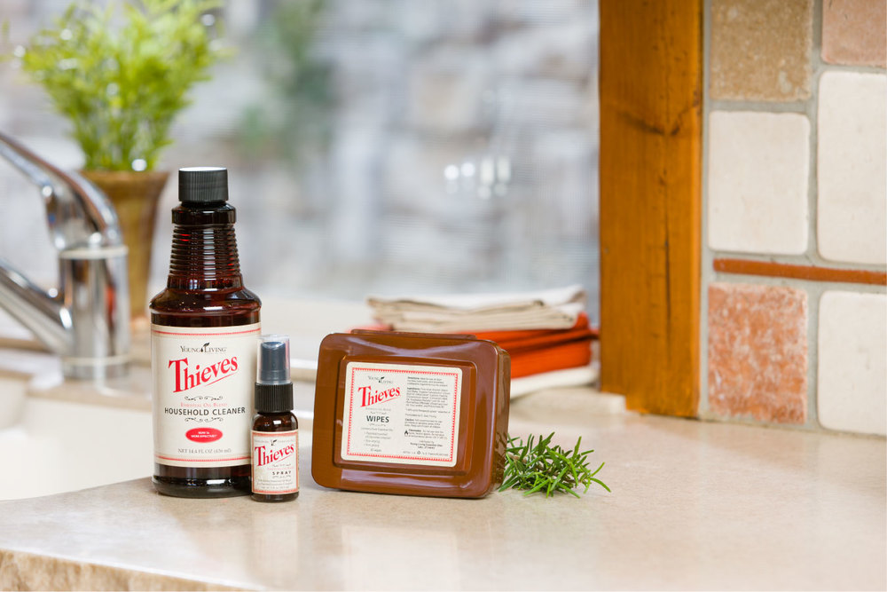 Thieves Household Cleaners from youngliving.com