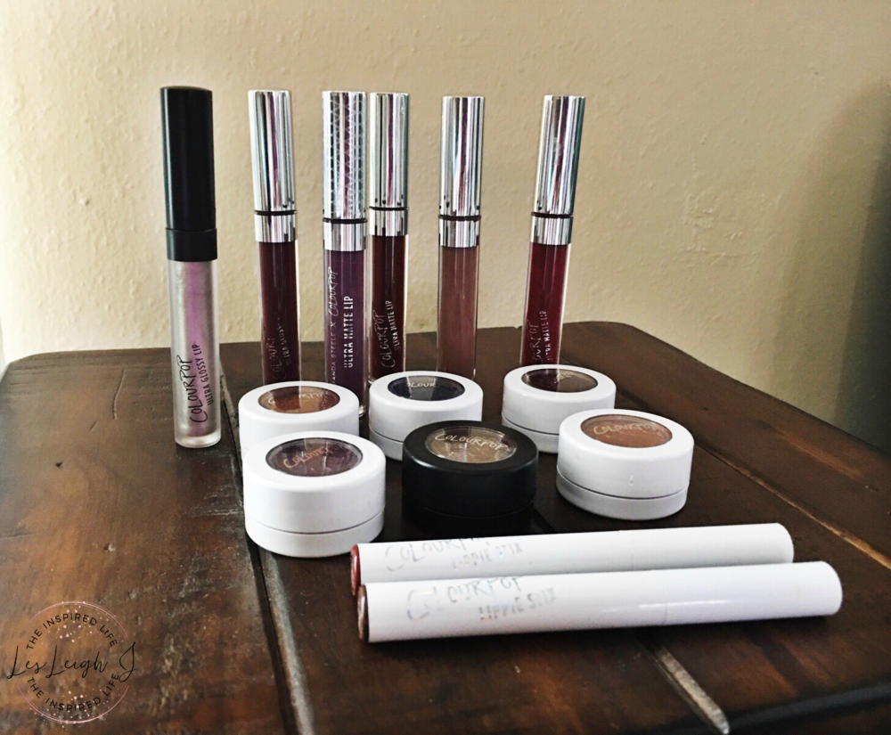 ColourPop Eyeshadows and Lipsticks