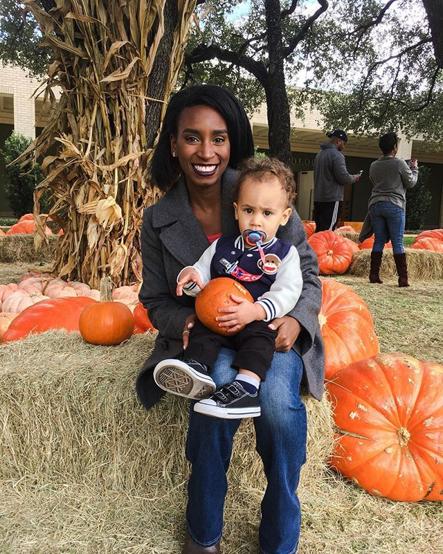 This kid right here is the actual cutest! Even when he doesn't want to smile for the camera...😏👶🏽❤️🍂 . . . . #family #my #son #babyboy #cute #sweetpea #like #love #fall #happyfall #pumpkinpatch #texas #DFW #dallasblogger #mommasboy #momlife #motherhood #life #vsco #followme #instagood #instadaily #picoftheday #photooftheday #lesleighjlifestyle