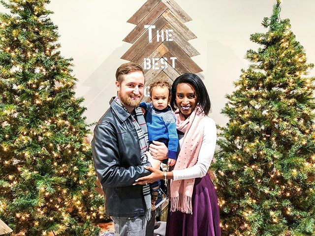 I decided to join in on the #project365 going into 2018, and post a pic every day for a year like @savannahkwallace is doing. Here's one of my little family from Christmas Eve! As you can see, my son is having the time of his life in this picture...😂🤷🏾‍♀️👶🏽 . . . . #projectthreesixfive #lesleighj365 #family #christmastree #christmas #christmas2017 #like #love #life #fun #followme #picoftheday #photooftheday #instagood #instadaily #acolorstory #vsco #lesleighjlifestyle #latergram