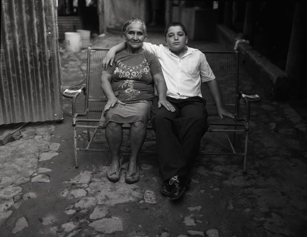 Rosa and Adoney, El Salvador. Taylor Wessing Photographic Portrait Prize, short-listed 2012