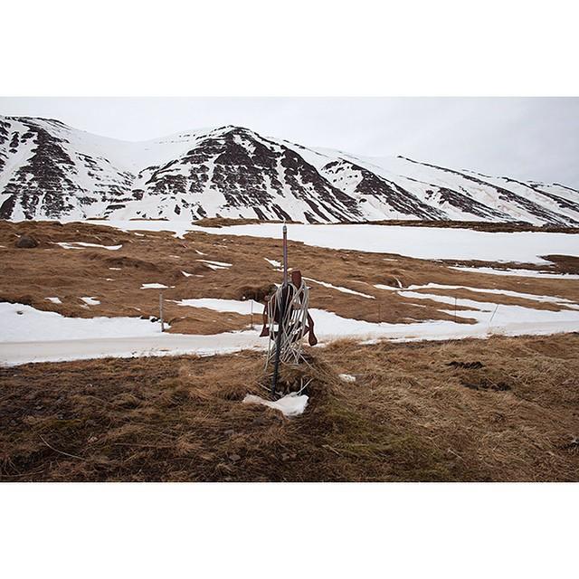 "66°04'11.7""N 18°40'45.9""W, 14/02/2015, 1545 Half-drilled geothermal bore hole, Ólafsfjörður, Iceland  #geothermal #borehole #winter #Iceland"