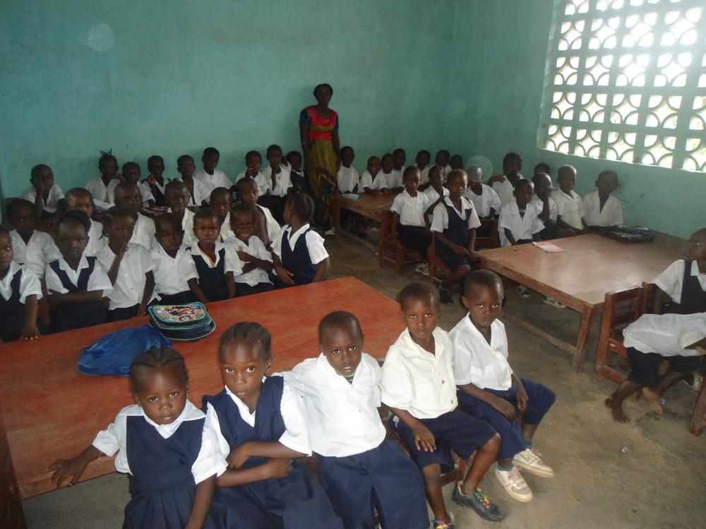 Ms. Korpo Kindergarten Class at Balama School1.JPG