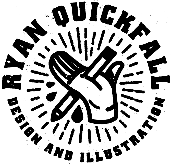 Ryan Quickfall design and illustration
